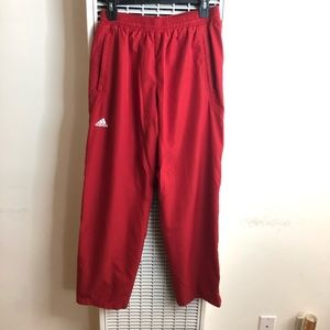 NWOT adidas | Red Parachute Pants